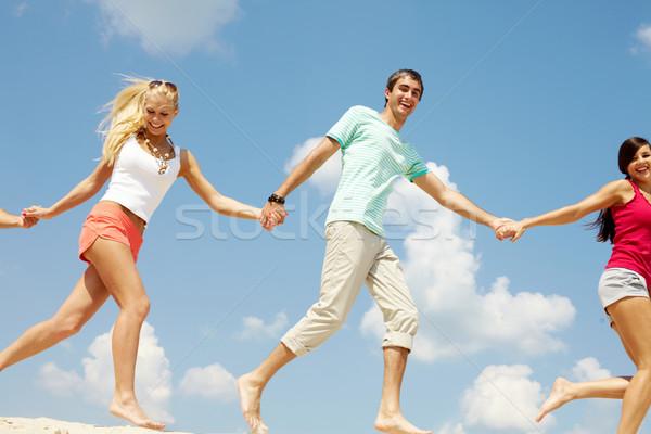 Running on beach  Stock photo © pressmaster