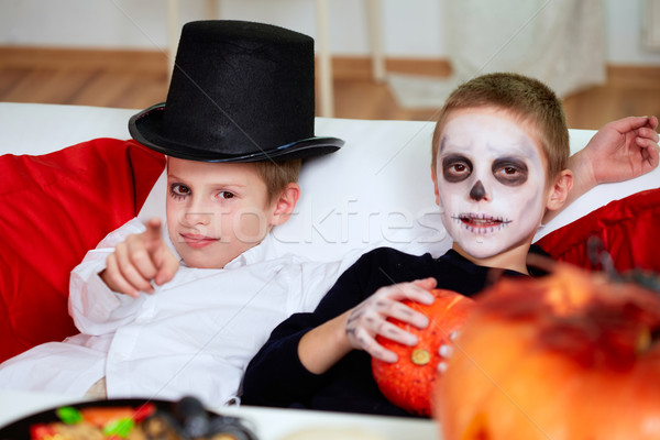 Halloween relax Stock photo © pressmaster