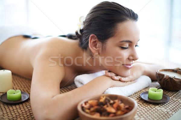 Before massage Stock photo © pressmaster