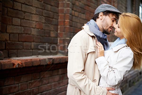 городского пару портрет любовный одежды Сток-фото © pressmaster
