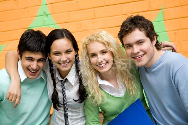 Joyful students Stock photo © pressmaster