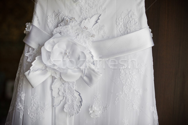wedding dress close up Stock photo © prg0383