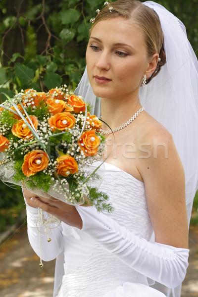 Beautiful  woman Stock photo © prg0383