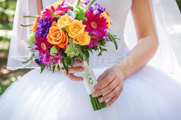 Düğün sevmek dizayn yaprak Stok fotoğraf © prg0383