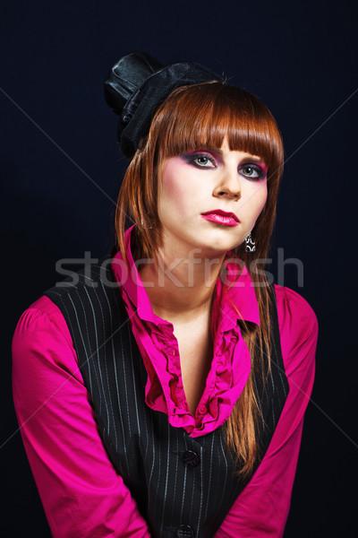 красивой молодые Lady портрет женщины Сток-фото © prg0383