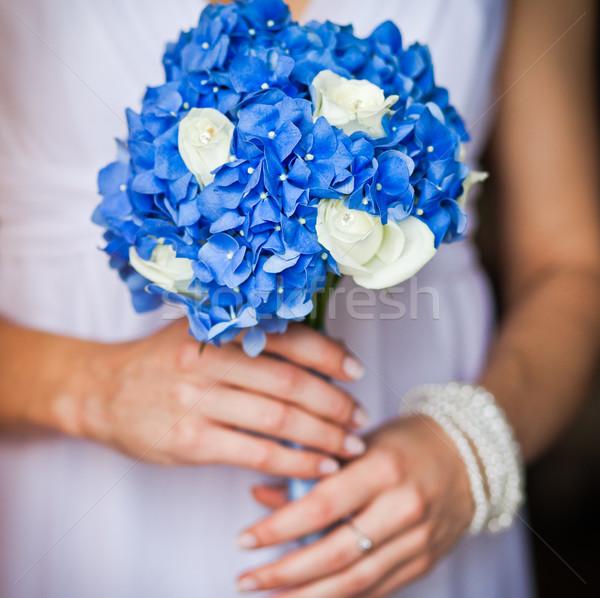 невеста букет цветок любви Сток-фото © prg0383