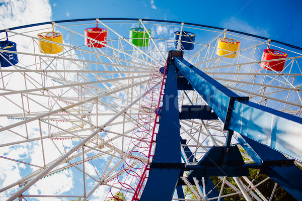 A colourful ferris wheel Stock photo © prg0383