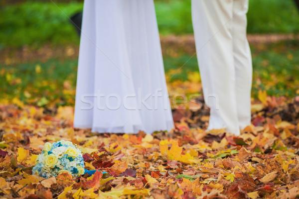 Bella cerimonia di nozze come foto mano Foto d'archivio © prg0383