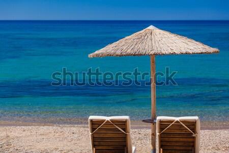 мнение Греция пляж небе Сток-фото © prg0383