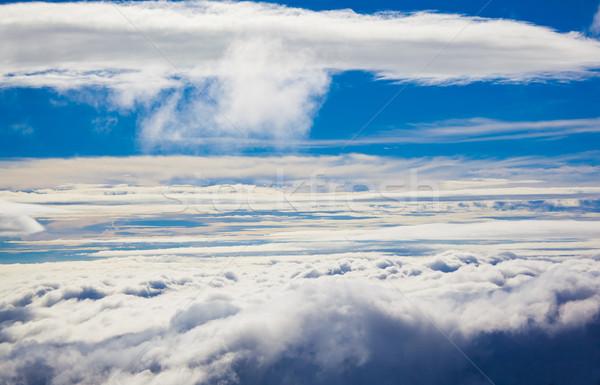 Himmel Wolken Natur Hintergrund Schönheit Sommer Stock foto © prg0383