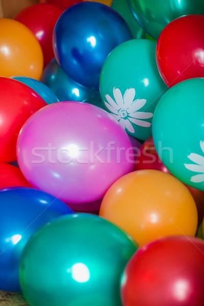 шаров многие цветы большой синий Сток-фото © prg0383