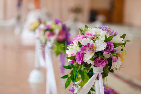 Stock photo: beautiful wedding ceremony
