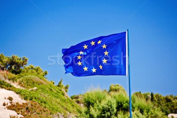 Flag of the European Union Stock photo © prg0383