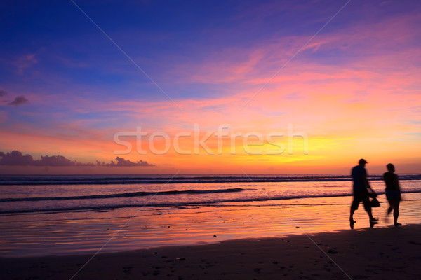Stock photo: Summertime at the beach