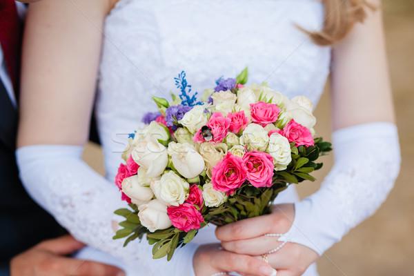 Ramo de la boda boda amor diseno hoja Foto stock © prg0383