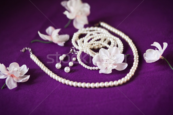 wedding Beautiful adornment Stock photo © prg0383