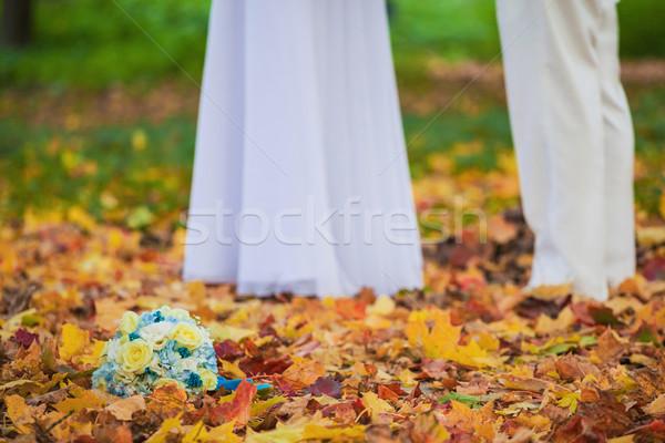 красивой Свадебная церемония подобно фото стороны Сток-фото © prg0383