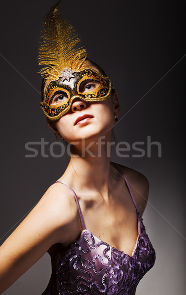 beautiful young lady Stock photo © prg0383