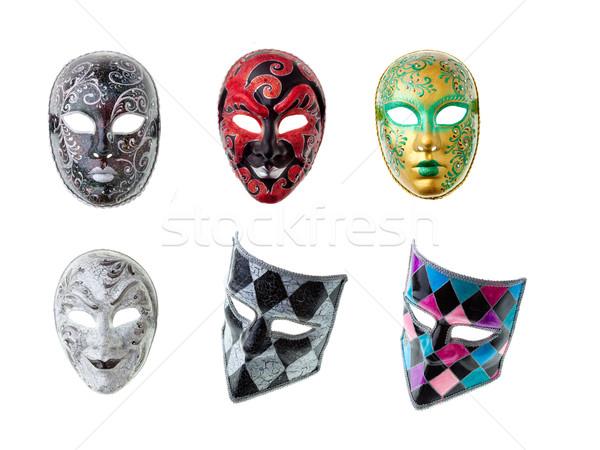 venetian masks Stock photo © prg0383