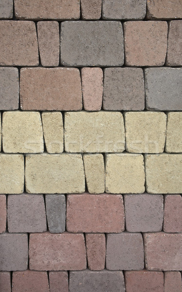 pastel colored abstract stone pattern Stock photo © prill