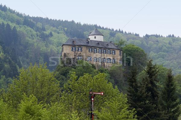 small castle in the Eifel Stock photo © prill
