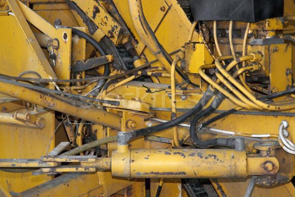 rundown machine detail Stock photo © prill