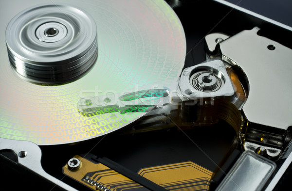 hard disk and data Stock photo © prill