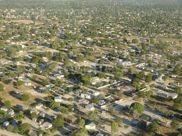 Ботсвана города Африка дома город Сток-фото © prill