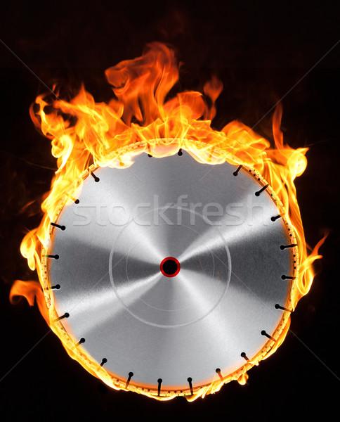 hot cutting wheel Stock photo © prill