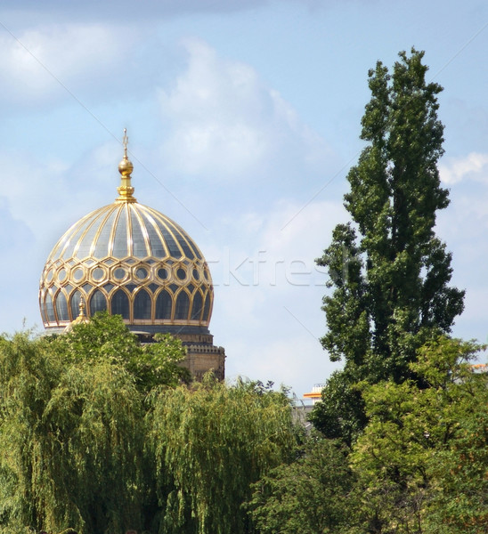 synagoge cupola in Berlin Stock photo © prill