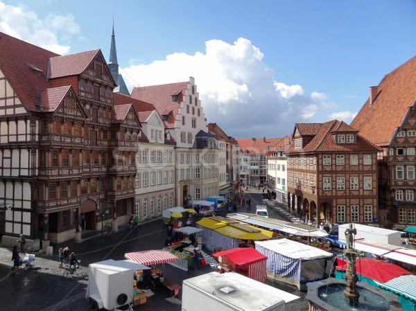 Hildesheim Stock photo © prill