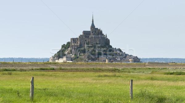 Mont Saint Michel Abbey Stock photo © prill