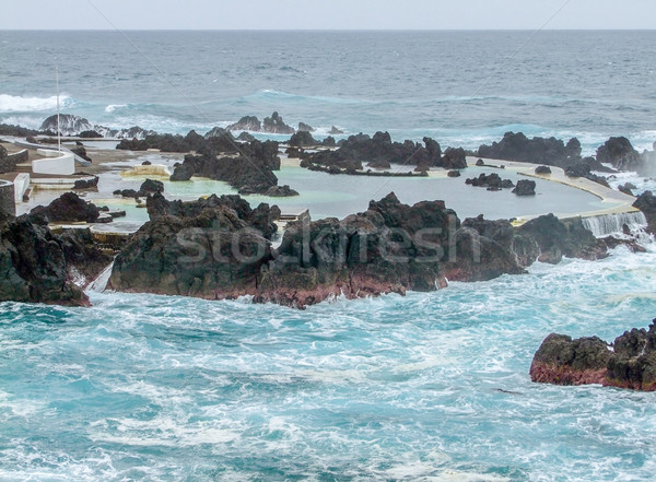 Ada madeira manzara doğa deniz yaz Stok fotoğraf © prill