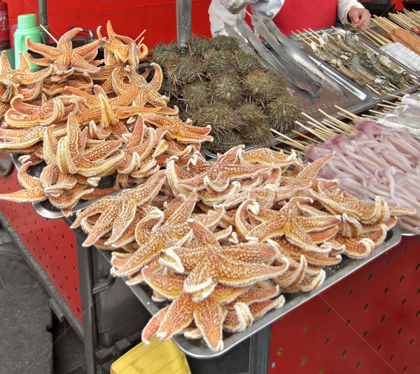 chinese sales stall detail Stock photo © prill