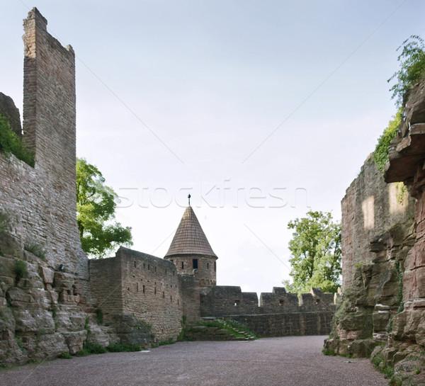 Wertheim Castle detail at summer time Stock photo © prill