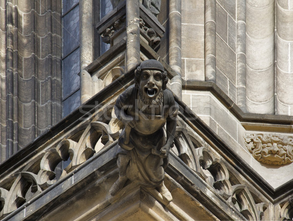 gargoyle in Prague Stock photo © prill