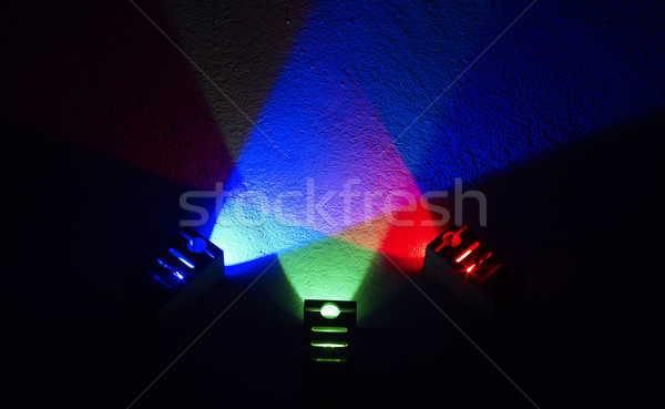 colored light Stock photo © prill
