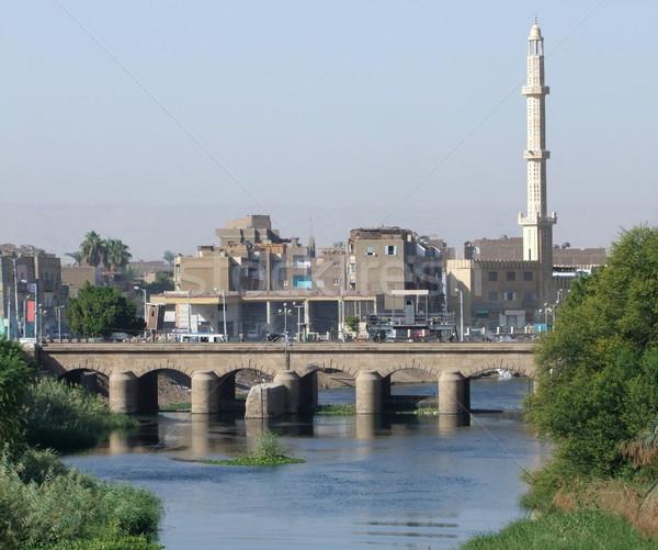 Nile and Esna Stock photo © prill
