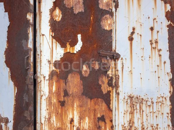 rusty metallic background Stock photo © prill