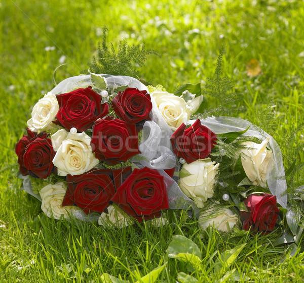 bride bouquet Stock photo © prill