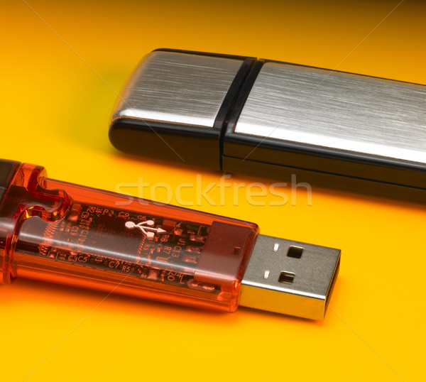 USB sticks detail Stock photo © prill