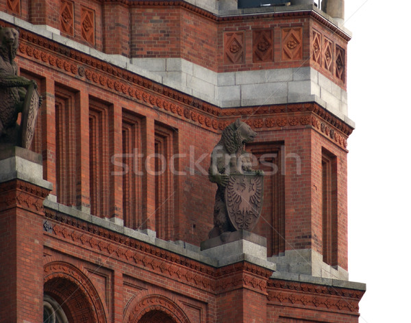 Red Town Hall in Berlin Stock photo © prill