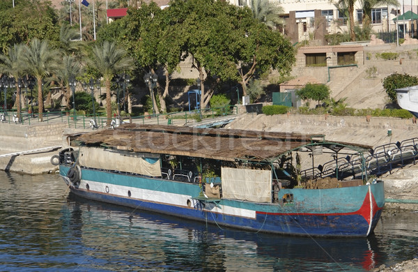old barge in Egypt Stock photo © prill