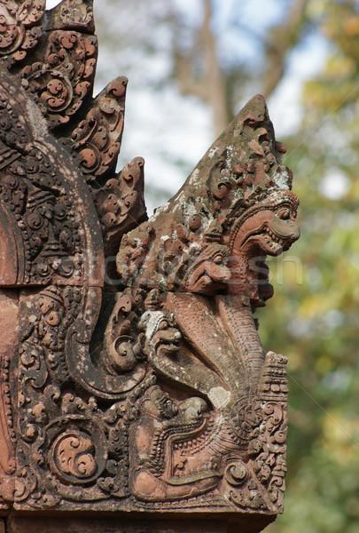 Historisch tempel Cambodja gebouw bouw Stockfoto © prill