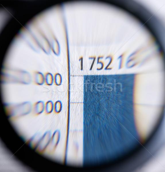 magnifier Stock photo © prill