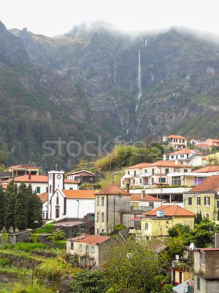 Ada madeira manzara doğa dağ seyahat Stok fotoğraf © prill