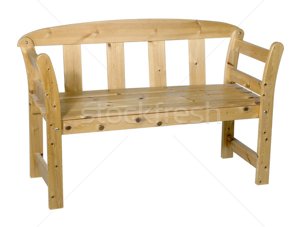 wooden bench Stock photo © prill
