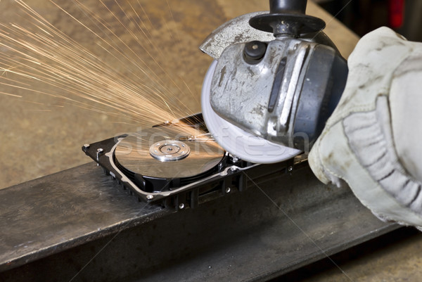 circular saw detail Stock photo © prill