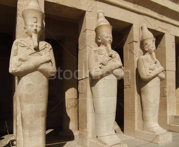 Pietra storico colonne Egitto sereno Foto d'archivio © prill