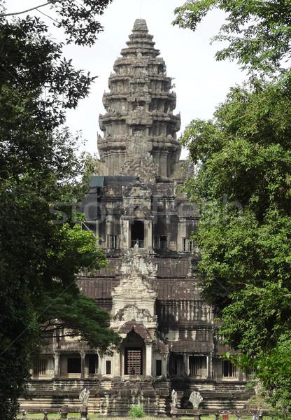 Ангкор-Ват подробность храма комплекс Камбоджа здании Сток-фото © prill
